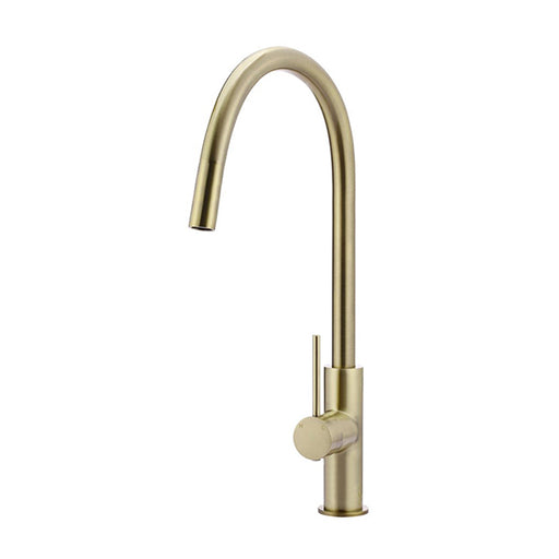 Meir Round Poccola Pull Out Kitchen Mixer Tap Tiger Bronze Gold Online at The Blue Space