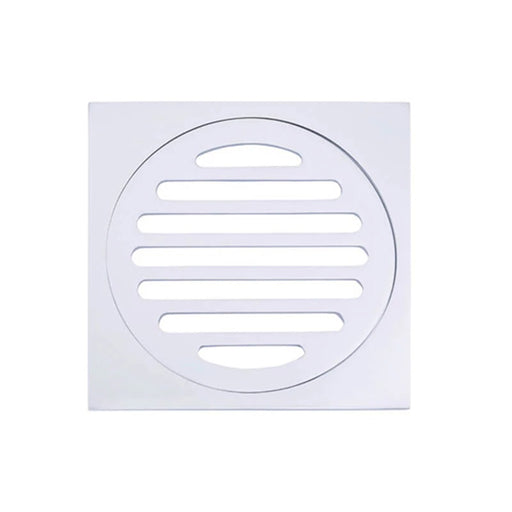 Meir Square Floor Grate Shower Drain 100mm Outlet - Polished Chrome shower drains