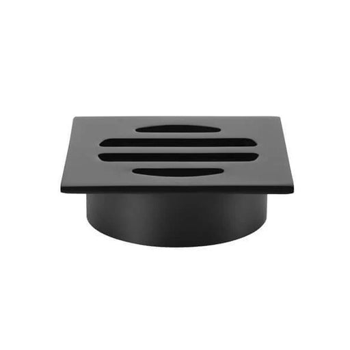 Meir Square Floor Grate Shower Drain 50mm Outlet - Matte Black online at The Blue Space