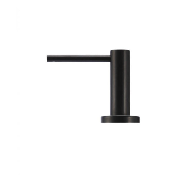Meir Round Matte Black Soap Dispenser - The Blue Space