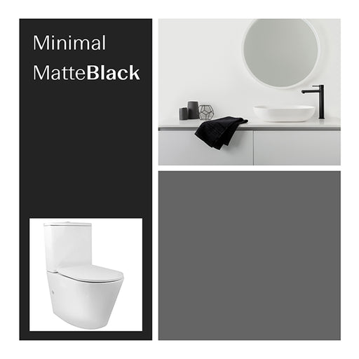 Bathroom Package - Minimal Matte Black at The Blue Space