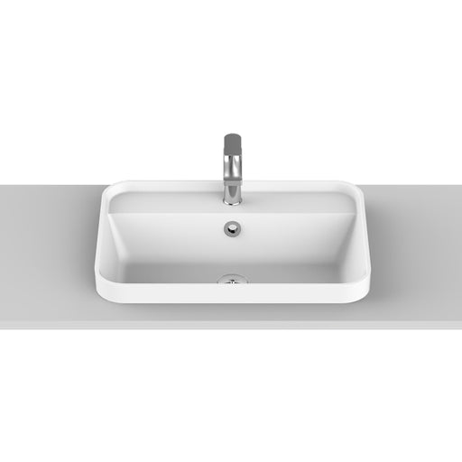 ADP Miya 550 Solid Surface Semi-Inset Basin - The Blue Space
