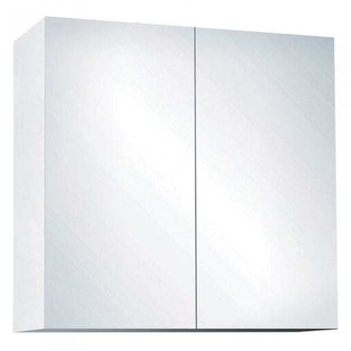 Fienza 600mm Mirror Cabinet, Pencil Edge - The Blue Space