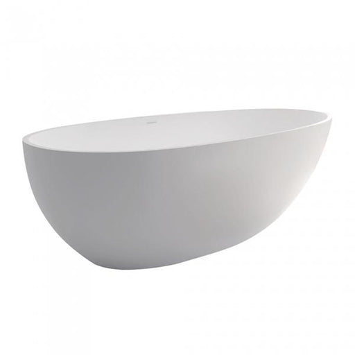 Fienza Bahama Matte White Stone Freestanding Bath 1500 Online at The Blue Space