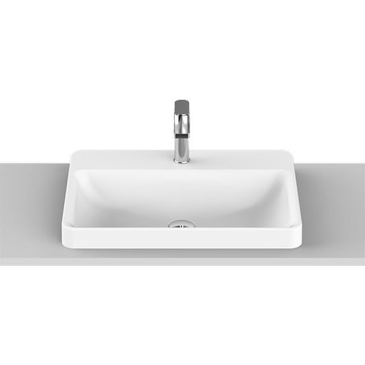 ADP Courage Solid Surface Semi-Inset Basin The Blue Space