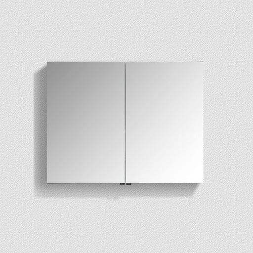 Belbagno Aluminium LED Mirror Cabinet 900mm - The Blue Space