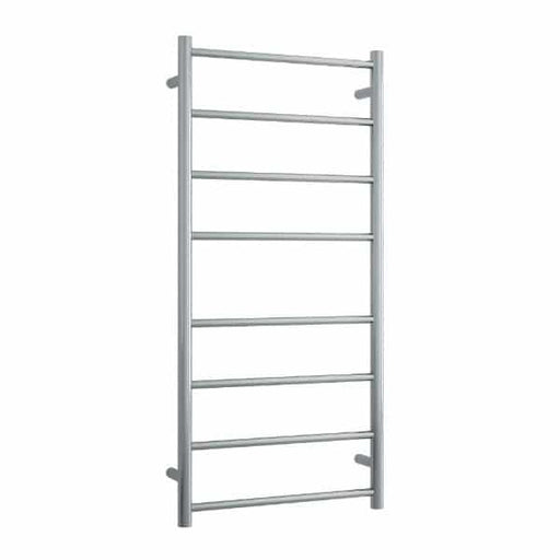 Thermogroup 8 Bar Thermorail Heated Towel Ladder 530 x 1120 x 122 - Brushed SS online at The Blue Space