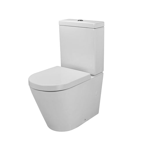 Gallaria Tropical Back To Wall Toilet Suite - The Blue Space