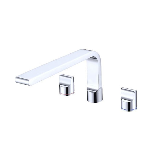 Nero Pearl Bath Set with Swivel Spout - Chrome online at The Blue Space