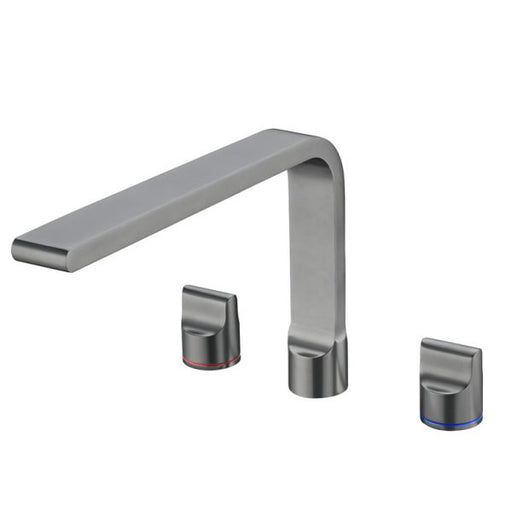 Nero Pearl Kitchen Set with Swivel Spout - Gun Metal Grey online at The Blue Space