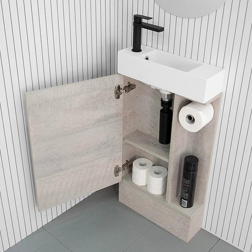 ADP Allie Compact Vanity with Kickboard