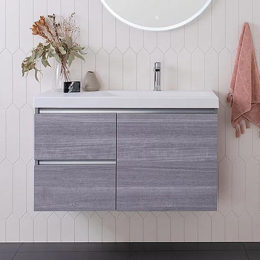 ADP Atlanta Ensuite Wall Hung Vanity 600mm - 1200mm, small space vanities online at The Blue Space
