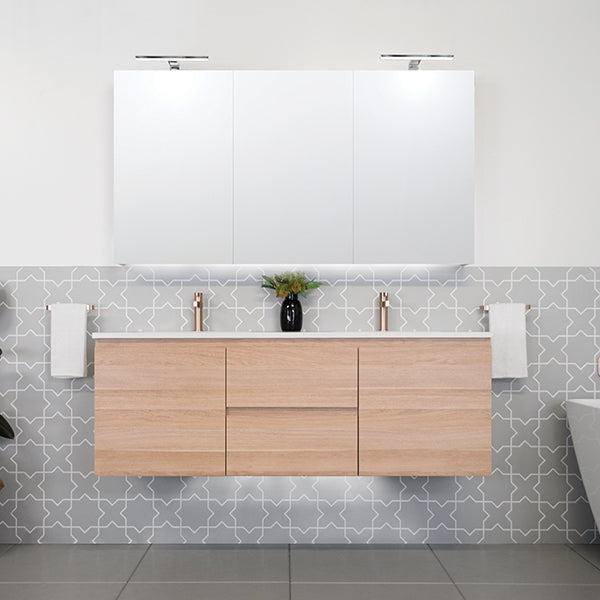 ADP Emporia Twin Vanity 600mm - 1800mm by ADP - The Blue Space