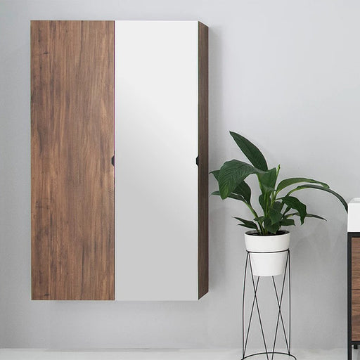 ADP Gino Bathroom Tallboy in woodgrain or mirrored finish at The Blue Space