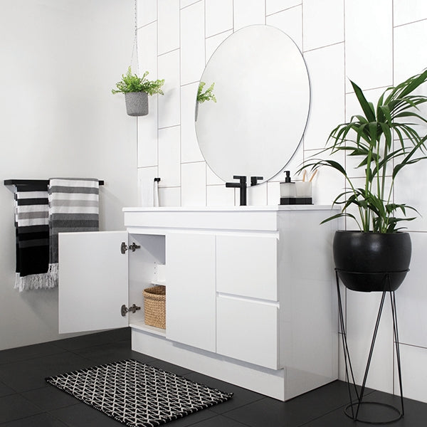 ADP Palm Vanity with kickboard 600mm - 1800mm by ADP - The Blue Space