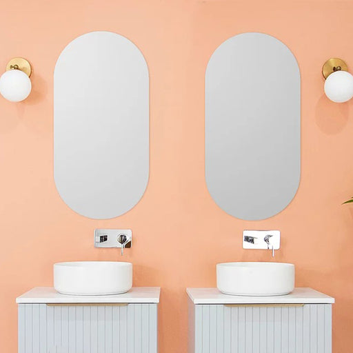 ADP Pill Mirror 900mm x 450mm - Oval Mirrors - The Blue Space