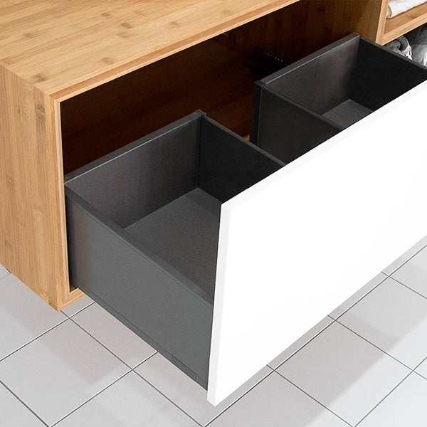 ADP Serena Vanity open drawer - The Blue Space