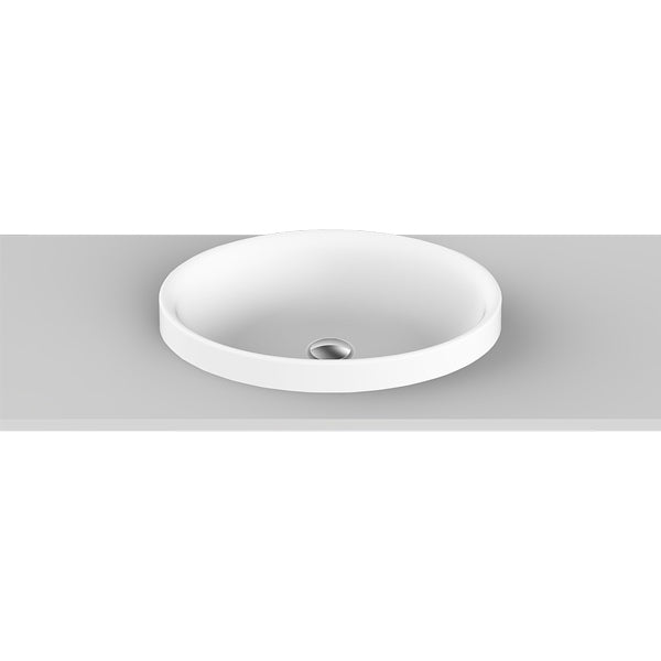 ADP Dignity Semi Inset Basin by ADP - The Blue Space