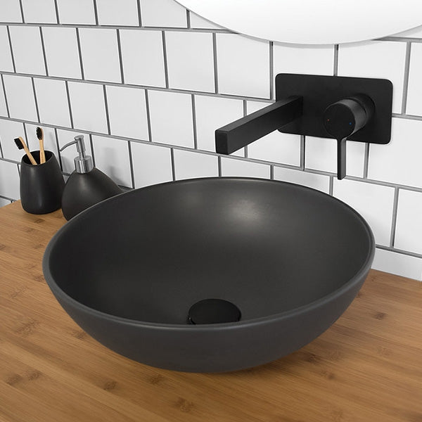 ADP Solar Above Counter Basin - Matte black by ADP - The Blue Space