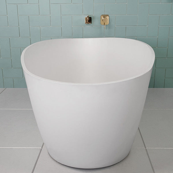 ADP Tranquil Matte Finish Freestanding Bath by ADP - The Blue Space