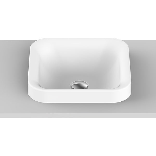 ADP Truth Semi Inset Basin by ADP - The Blue Space