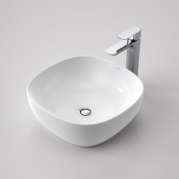 Buy Caroma Artisan Above Counter Basin Curved Square 400mm
