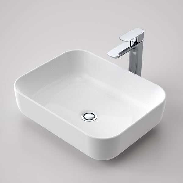 Caroma Artisan Above Counter Basin- Rectangle 490mm by Caroma - The Blue Space