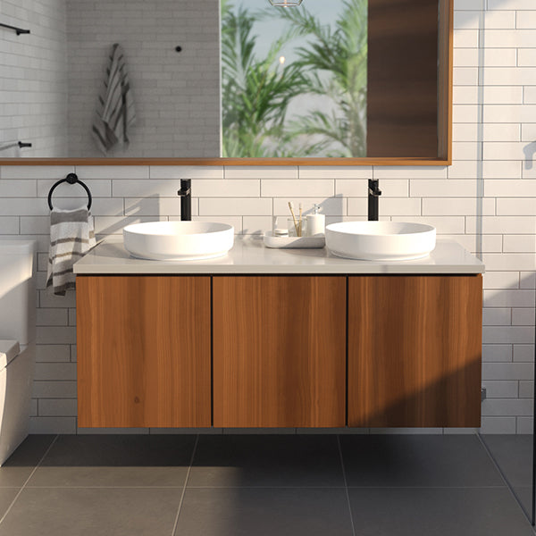 Caroma Tribute Art. Above Counter Basin- Round 405mm Online at The Blue Space