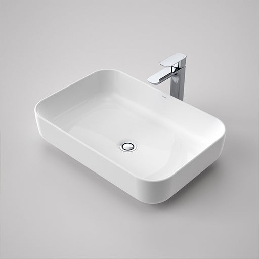 Caroma Artisan Above Counter Basin- Rectangle 600mm by Caroma - The Blue Space