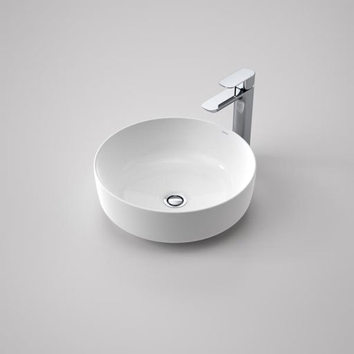 Caroma Artisan Above Counter Basin- Round 405mm by Caroma - The Blue Space