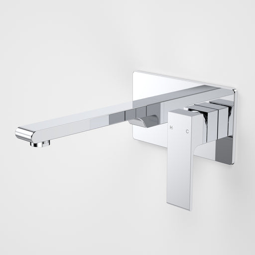Caroma Aura Wall Basin/Bath Mixer Rectangle Back Plate by Caroma - The Blue Space