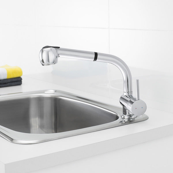 Caroma Cardinal Retractable Dual Spray Sink Mixer by Caroma - The Blue Space