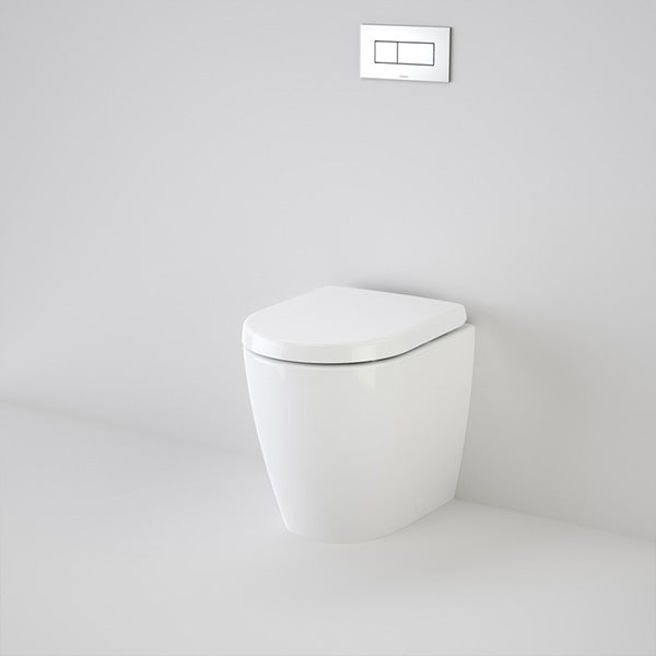 Caroma Urbane Compact Wall Faced Invisi Series II Toilet Suite