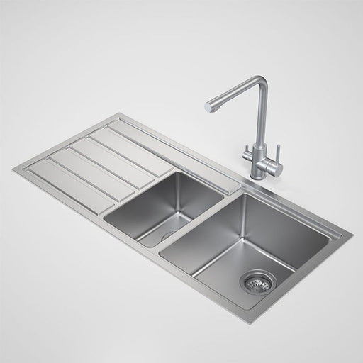 Caroma Compass 1.5 Bowl Kitchen Sink by Caroma - The Blue Space