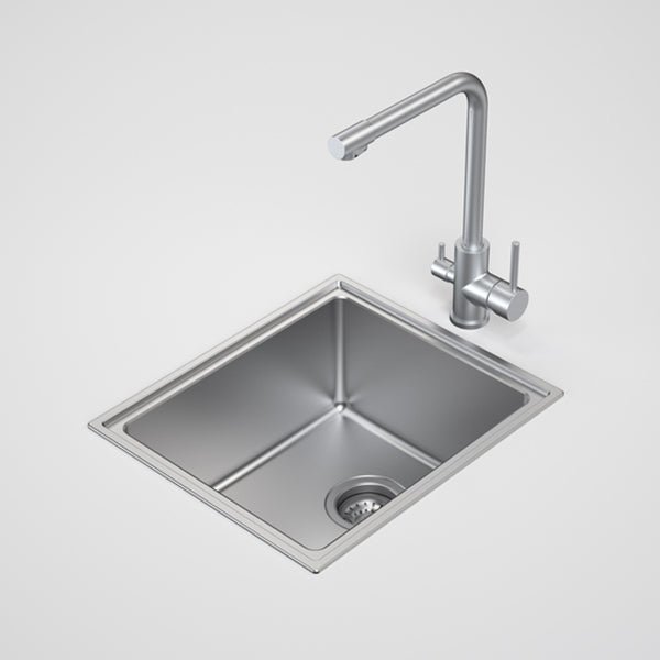 Caroma Compass Single Bowl Sink by Caroma - The Blue Space