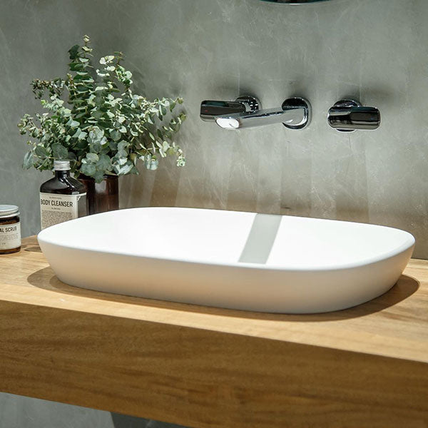Caroma Contura Wall Basin/Bath Set online at the Blue Space