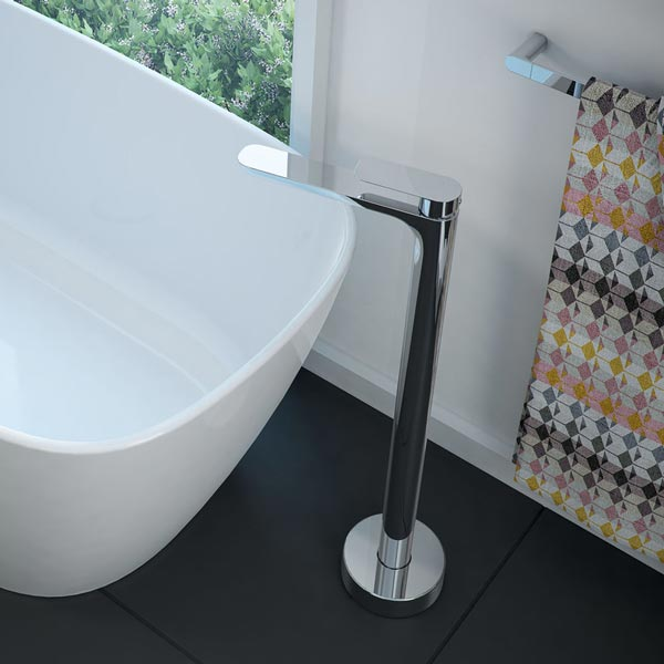 Caroma Contura Freestanding Bath Mixer by Caroma - The Blue Space