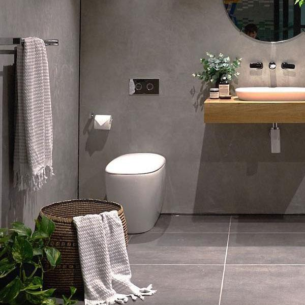 Caroma Contura Wall Faced Invisi Series II Toilet Suite online at The Blue Space