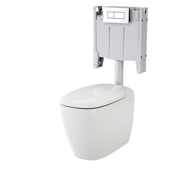 Caroma Contura Wall Faced Invisi Series II Toilet Suite by Caroma - The Blue Space