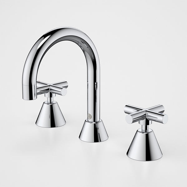 Caroma Coolibah Classic Cross Basin Tap Set by Caroma - The Blue Space