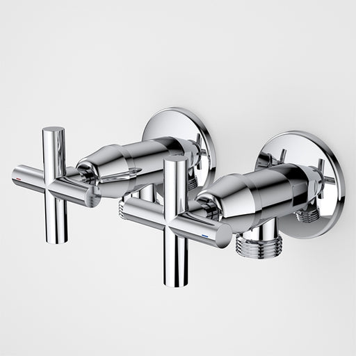 Caroma Coolibah Classic Cross Washing Machine Tap Set by Caroma - The Blue Space