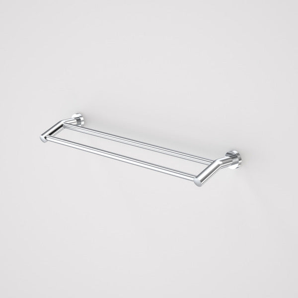 Caroma Cosmo Metal Double Towel Rail by Caroma - The Blue Space