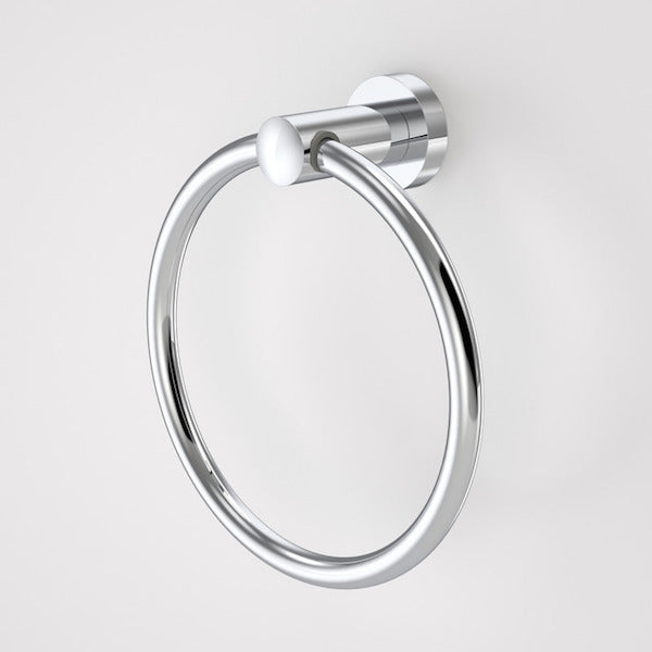 Caroma Cosmo Metal Towel Ring by Caroma - The Blue Space