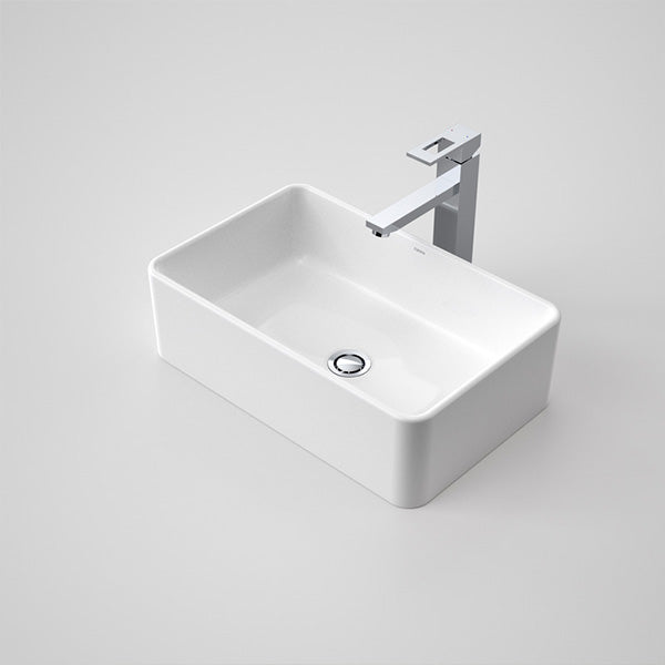 Caroma Cube 500 Above Counter Vanity Basin by Caroma - The Blue Space