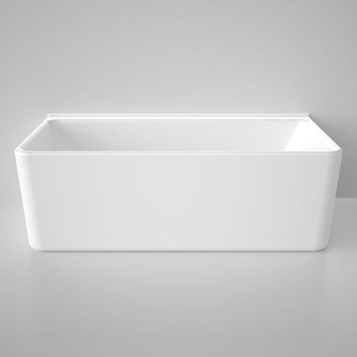 Caroma Cube Back To Wall Freestanding Bath by Caroma - The Blue Space