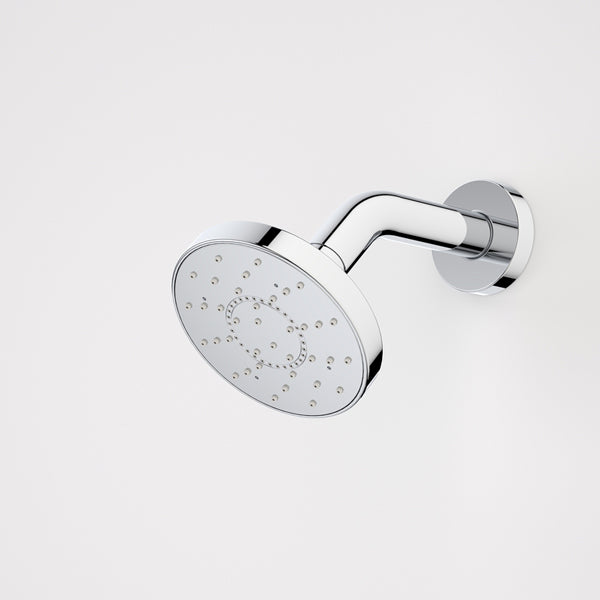 Caroma Ecco Aquasoft+ 105 Fixed Wall Shower by Caroma - The Blue Space