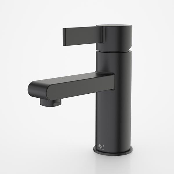 Dorf Enigma Basin Mixer Black - the blue space