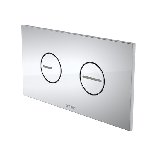 Caroma Invisi Series II Round Dual Flush Plate & Buttons by Caroma - The Blue Space