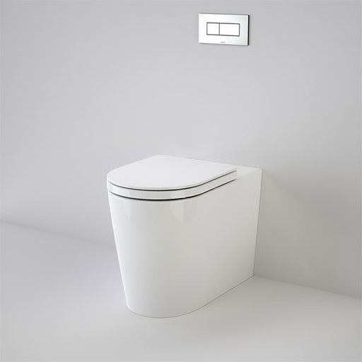 Caroma Liano Cleanflush Easy Height Wall Faced Invisi Series II Toilet Suite by Caroma - The Blue Space