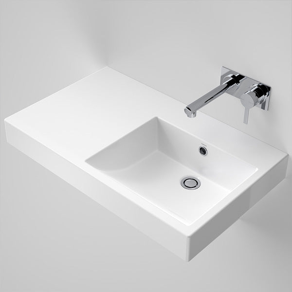 Caroma Liano Nexus 750 LHS Shelf Wall Basin by Caroma - The Blue Space